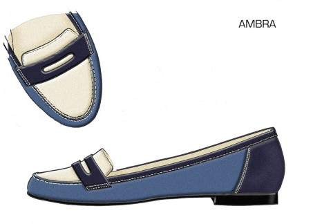 AMBRA - Navy - Airforce - Ecru