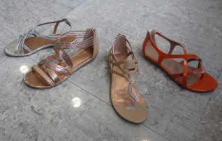 Synthetic Flat Sandals first revision