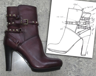 Roncola Leather Ankle Boot