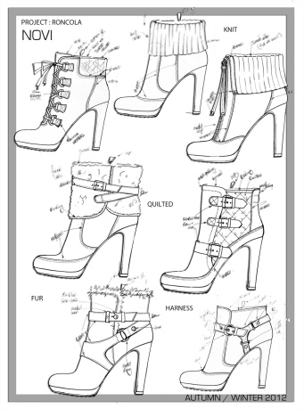Roncola Leather Ankle Boot Project