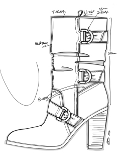 Slouch Mid Calf Boot