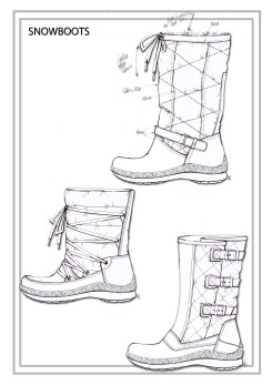 Snow boot Designs