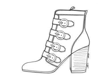 Block Heeled Boot