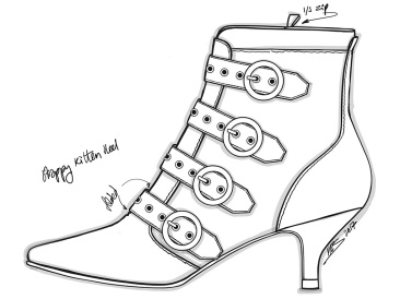 Kitten Heeled Boot
